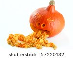 Funny Carved Pumpkin