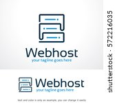 web hosting logo template...