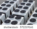 cooling system warehouse | Shutterstock . vector #572219161