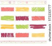 vector collection of retro... | Shutterstock .eps vector #572233777