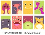 collection of banner ... | Shutterstock .eps vector #572234119