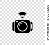 dash camera vector icon | Shutterstock .eps vector #572243209