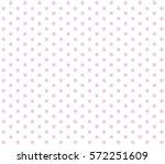 pink polka dots on white...   Shutterstock .eps vector #572251609