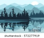 nature vector background ...