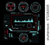 hud interface futuristic  sci...