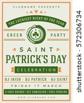 Saint Patricks Day Retro...