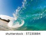Beautiful Blue Ocean Wave...