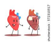 heart human internal organ...   Shutterstock .eps vector #572310517