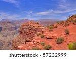Hdr Red Rock At Grand Canyon
