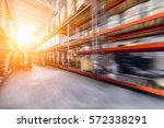 warehouse industrial and... | Shutterstock . vector #572338291