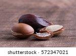 argan seeds. | Shutterstock . vector #572347021