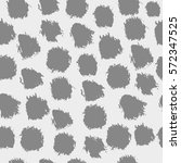 seamless pattern with brush... | Shutterstock .eps vector #572347525