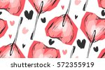 hand made vector graphic... | Shutterstock .eps vector #572355919