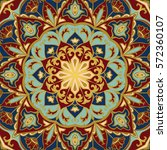 Oriental Colorful Pattern Of...