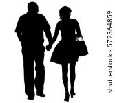 couples man and woman... | Shutterstock .eps vector #572364859