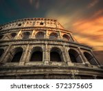 rome  italy.one of the most...   Shutterstock . vector #572375605