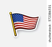 vector illustration. flag of... | Shutterstock .eps vector #572386531