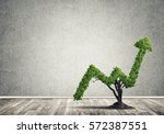 market growth and success as...   Shutterstock . vector #572387551