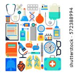 medical  health care concept in ... | Shutterstock .eps vector #572388994