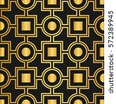 art deco seamless pattern | Shutterstock .eps vector #572389945