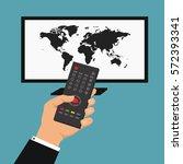 news of the world. vector... | Shutterstock .eps vector #572393341