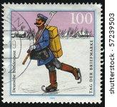germany  circa 1994  stamp...   Shutterstock . vector #57239503