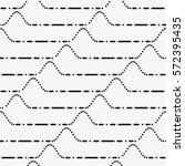 vector seamless pattern. modern ... | Shutterstock .eps vector #572395435