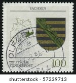 germany  circa 1994  stamp... | Shutterstock . vector #57239713
