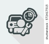 car repair | Shutterstock .eps vector #572417515