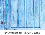 Wooden Wall Blue