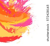 abstract color splash... | Shutterstock .eps vector #572428165