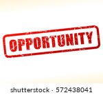 illustration of opportunity red ... | Shutterstock .eps vector #572438041