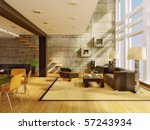 ultra modern  hi tech design ... | Shutterstock . vector #57243934