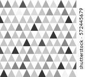 triangle pattern. trendy beauty ... | Shutterstock .eps vector #572445679
