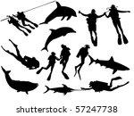 sea world | Shutterstock .eps vector #57247738