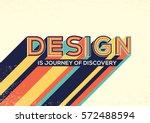 design concept in modern...   Shutterstock .eps vector #572488594