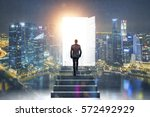 pathway of opportunity. back... | Shutterstock . vector #572492929