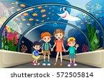Children Visiting Aquarium Full ...
