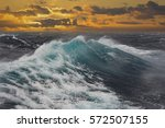 Sea Wave During Storm In...