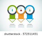 vector infographics design... | Shutterstock .eps vector #572511451