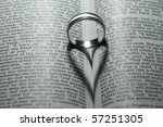Wedding Ring Casting A Heart...