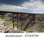 perrine bridge over snake river ... | Shutterstock . vector #57253759