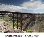 perrine bridge over snake river ... | Shutterstock . vector #57253759