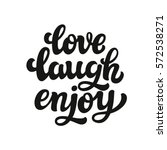 hand drawn typography text.... | Shutterstock .eps vector #572538271