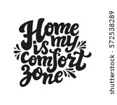 hand drawn typography text.... | Shutterstock .eps vector #572538289