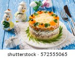 Multilayer Festive Salad With...