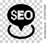 seo geotargeting icon. vector... | Shutterstock .eps vector #572557069