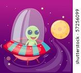 illustration of isolated... | Shutterstock . vector #57256099