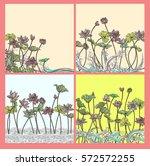 set vector gift voucher...   Shutterstock .eps vector #572572255