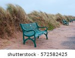 empty seats and wind swept...   Shutterstock . vector #572582425